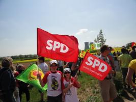 Anti Atom Demo in Grafenrheinfeld
