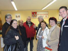 Die soziale Schere geht immer weiter auf - darüber informiert sich die SPD Bad Neustadt bei der Tafel