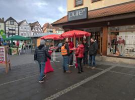 Kommunalwahlkampf 2020 - Infostand Marktplatz