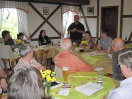 Infoveranstaltung der SPD Bad Neustadt zum Thema Windkraft mit Robert Römmelt