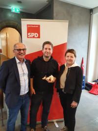 Kommunalwahlkampf 2020 - Kevin Kühnert in Bad Neustadt